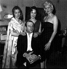 Jack Ruby and some of his girls