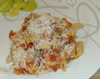 Mexican-Style Chicken w/ Penne