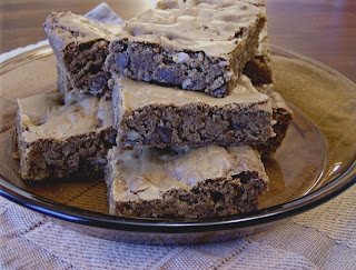 Coffee Blond Brownies