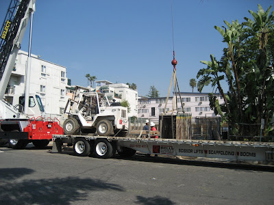 West Hollywood California Condo Building Under Construction