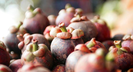 Mangosteen Whole Fruit