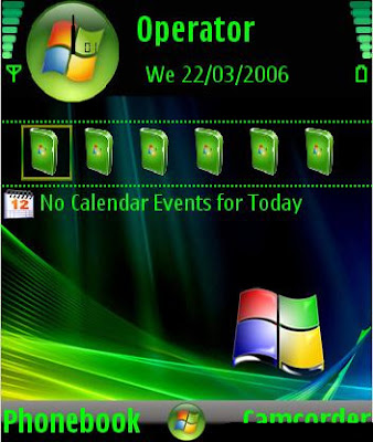 Tema Nokia 6555 Wallpaper
