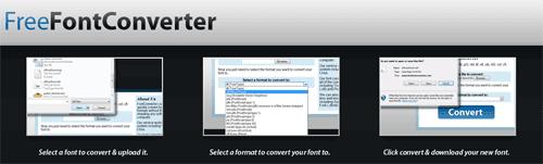 Free Font Converter