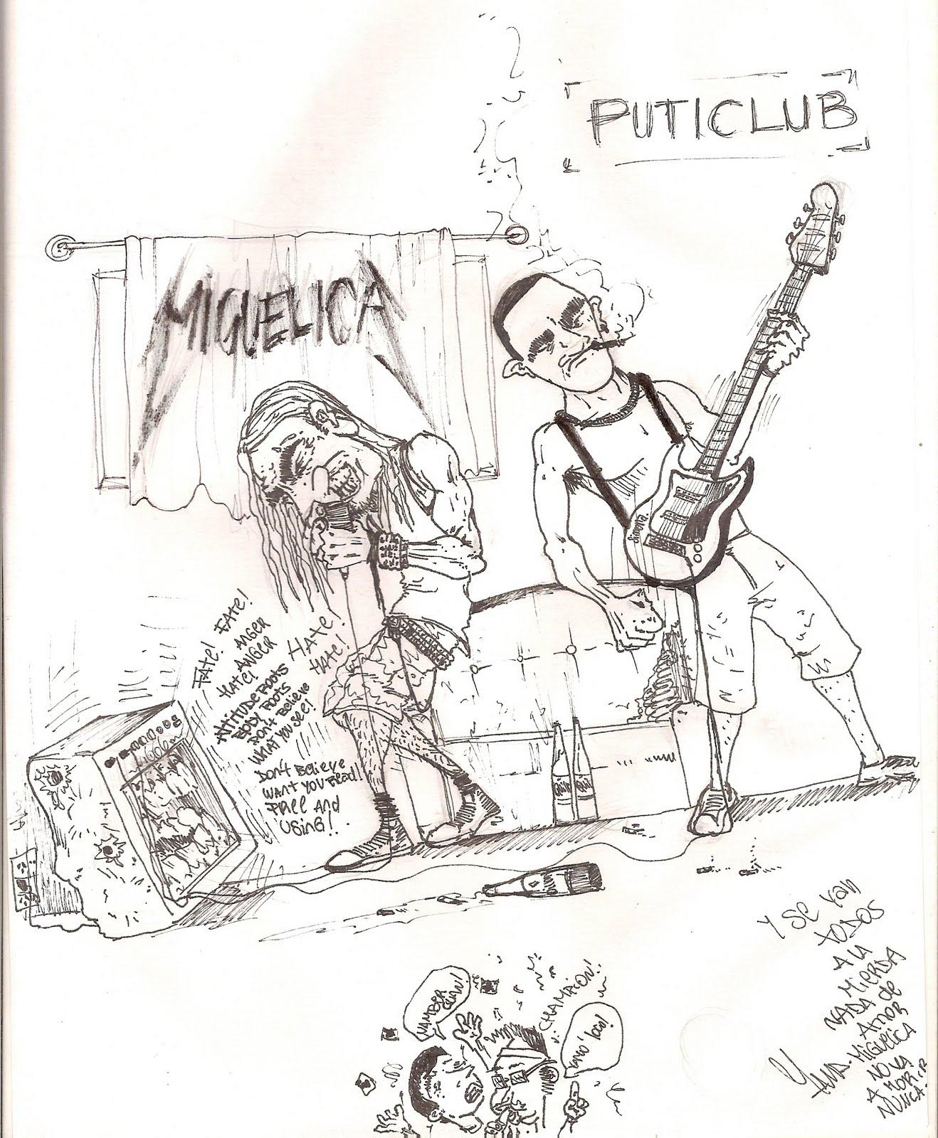 La Vida De Un Narigon Miguelica