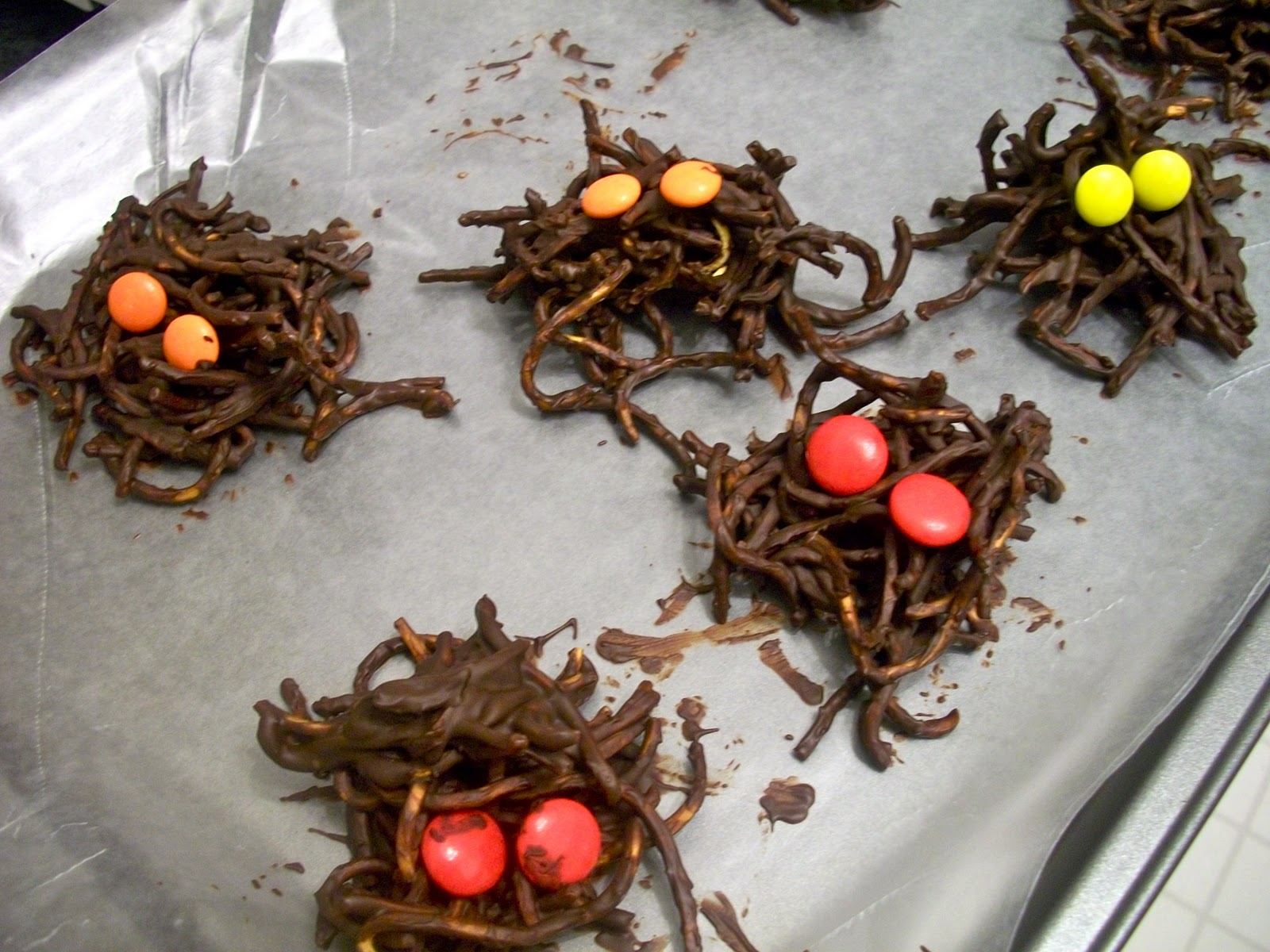 Brooke Bakes Chocolate Spiders