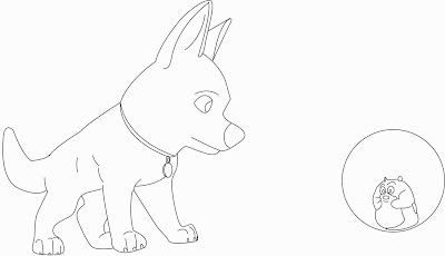 bolt coloring pages two new and free bolt coloring pages