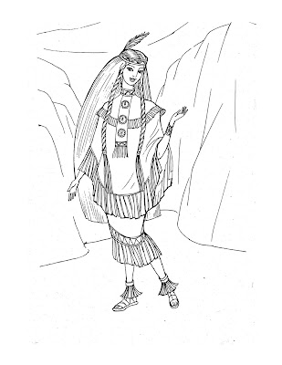Princess Coloring Pages: Breaking the princess coloring rules.