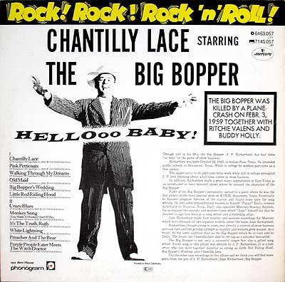 THE BIG BOPPER Bigbopper2