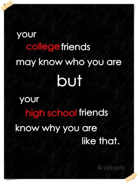 High School Friendship Quotes | Friendship Quotes