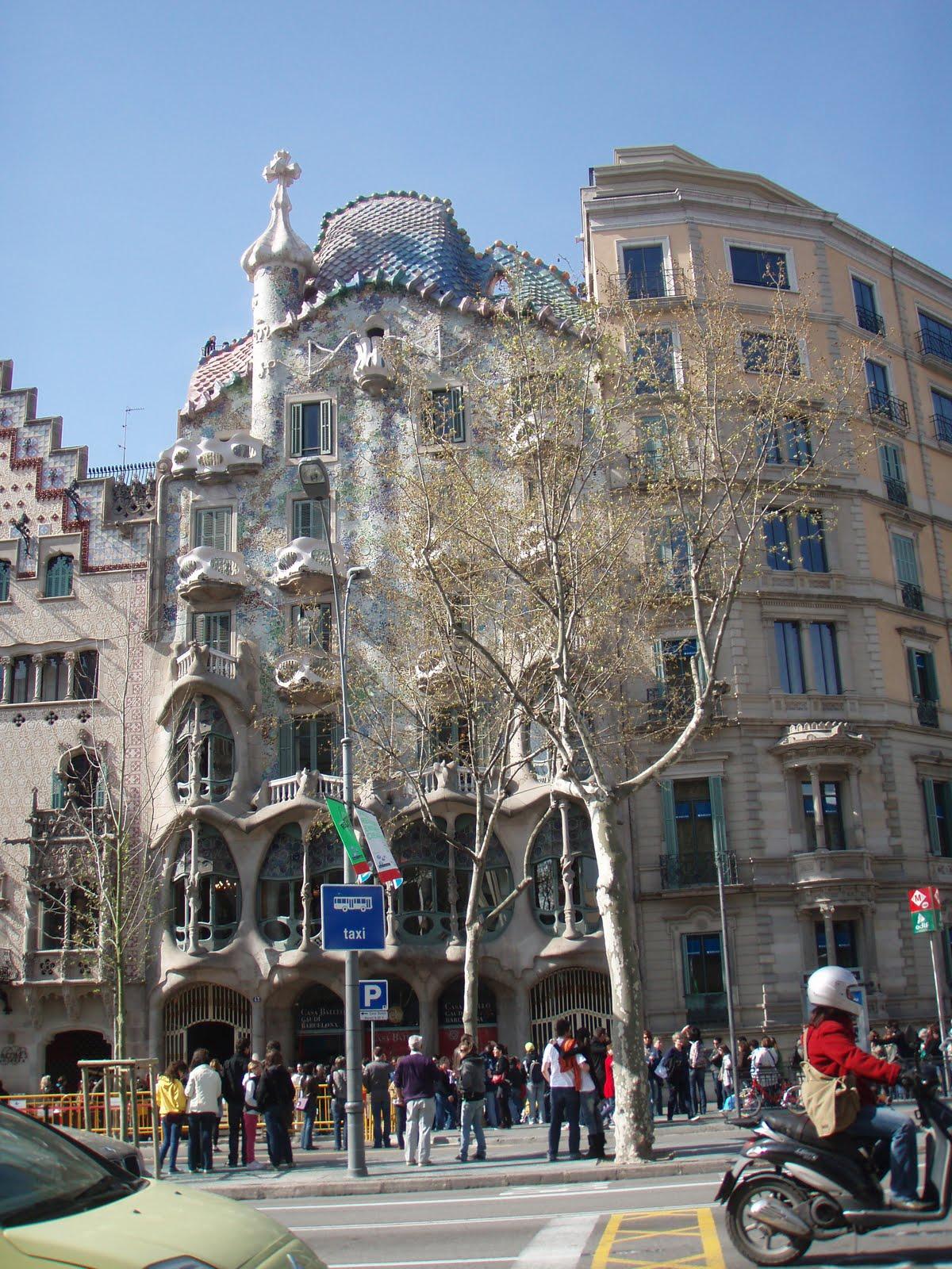 Italian Food Near Me Abandone Building Casa: An Art Work A Day: Gaudi And Park Guell