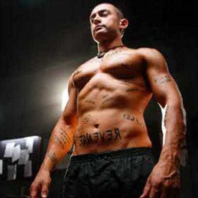 Aamir Khan Ghajini 6pack, In Images