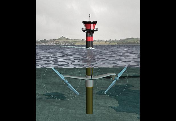 Generación de energía desde el mar.