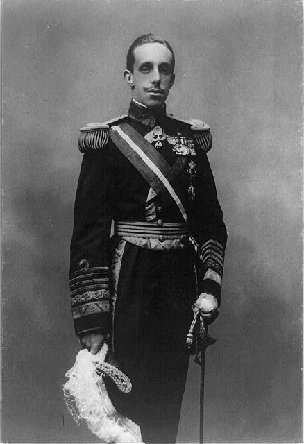 Maria's Royal Collection: Alfonso XIII, King of Spain