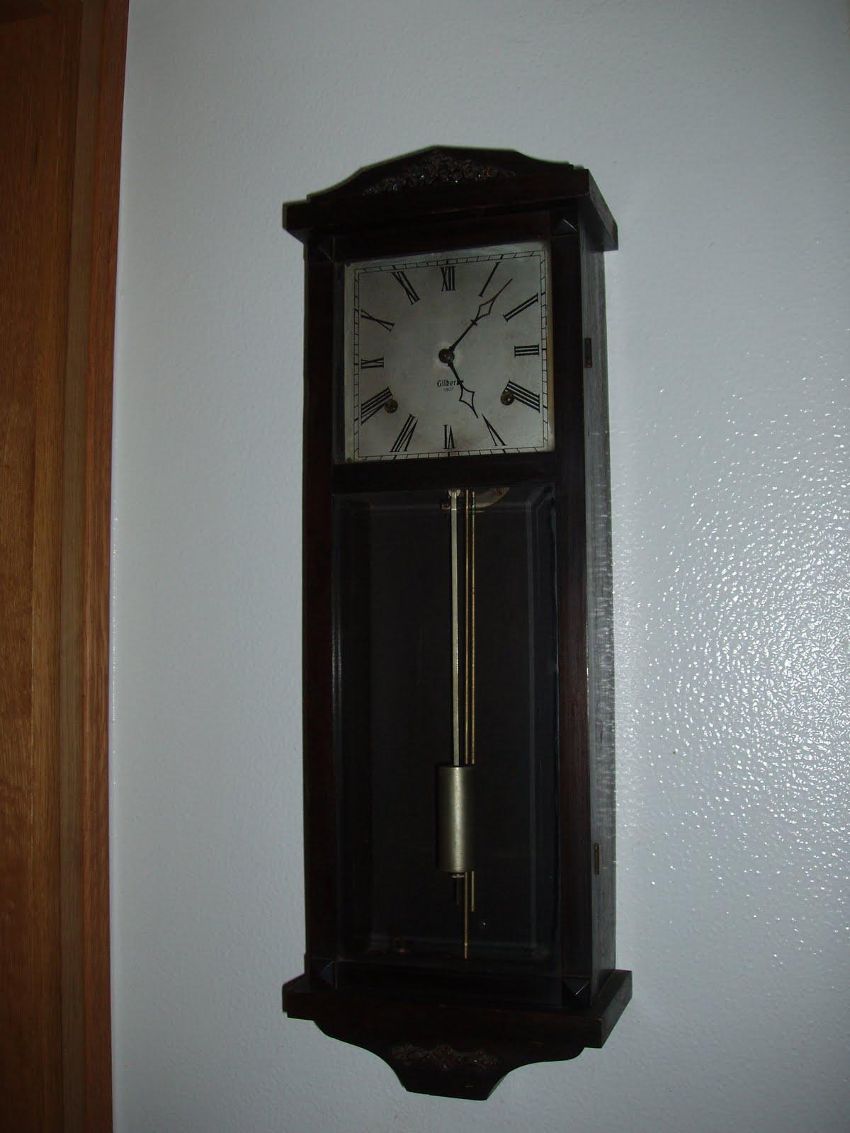 19eee506439 Relógio americano Gilbert de 1807 comprado na feira do Terreiro do Paço.  Travamos conhecimento com o vendedor em Setúbal por causa de outro relógio