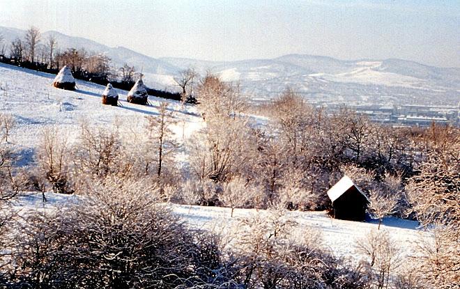 Iarna în Transilvania