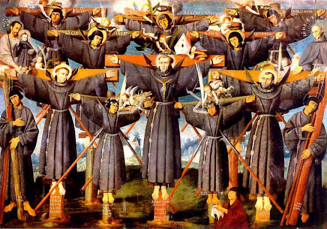 IMG ST. PAUL MIKI, Martyr,and Companions