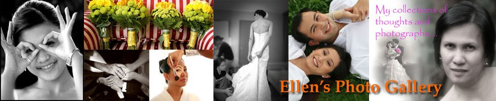 Ellen's Photo Gallery, Philippines wedding photographer