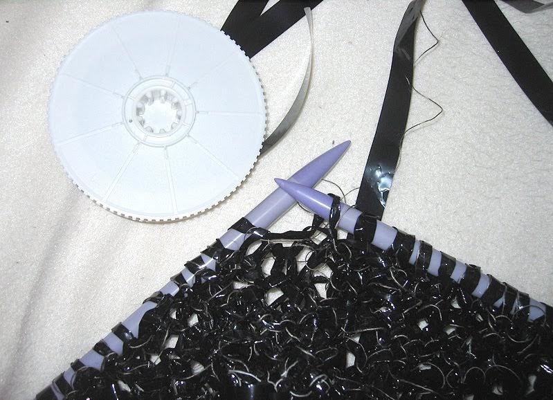 Purple Crafts Knit Video Tape Neulo Videonauhaa