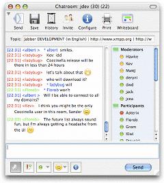 Coccinella – XMPP IM Client (GTalk, iChat, Jabber) with