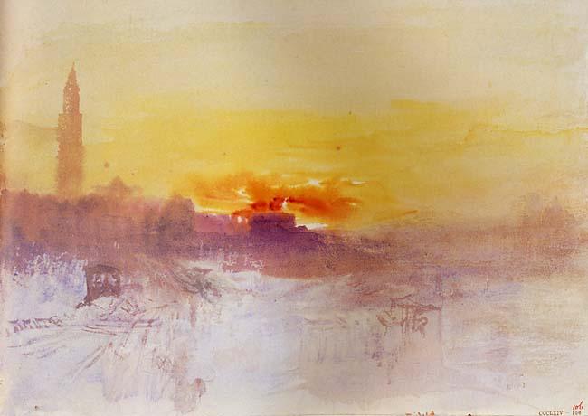 Resultado de imagen de óleos de Turner