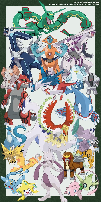 Pokemon U00b4 U00b4 U00b4  Legendarios