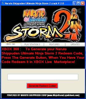 NARUTO SHIPPUDEN ULTIMATE NINJA STORM 2 XBOX 360 OR PS3 ...
