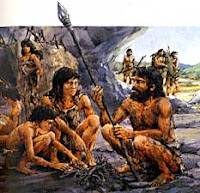 Paleolithic People Fire