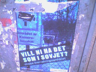 Erbjudande från Ung Vänster på elskåp i Umeå.
