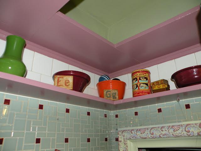 Vintage Tile Kitchen