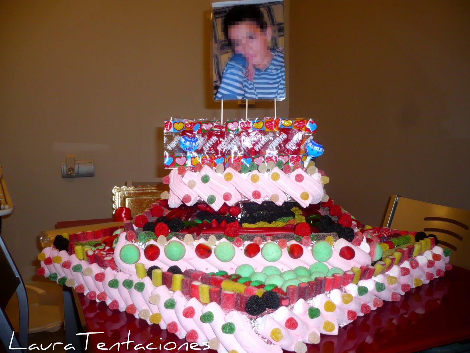 Tentaciones tarta de chuches - Tartas de chuches fotos ...