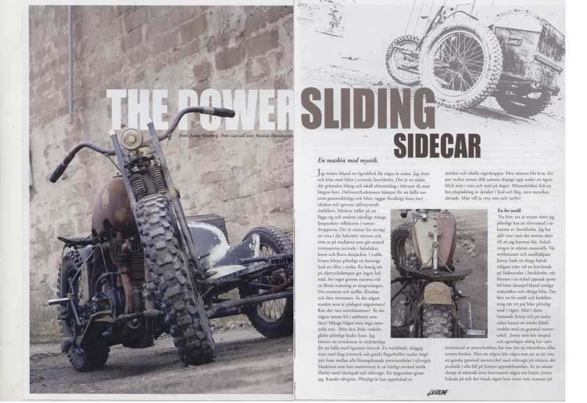 Power Sliding Sidecar