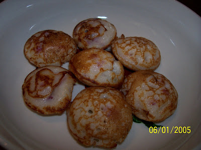 Paniyaram in a plate