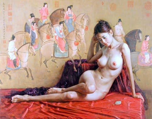 Arte exótico y erótico de guan zeju 9