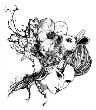 Pomme Chan Illustration