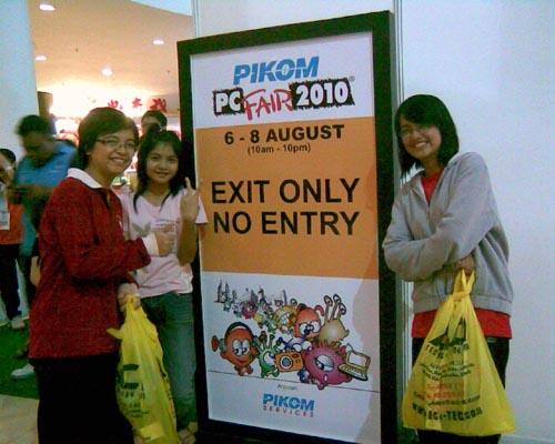 Situ Sini PC Fair 1Borneo Kota Kinabalu | Bluedianthus Dot
