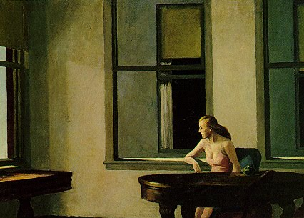 Edward Hopper Room In A Hotel