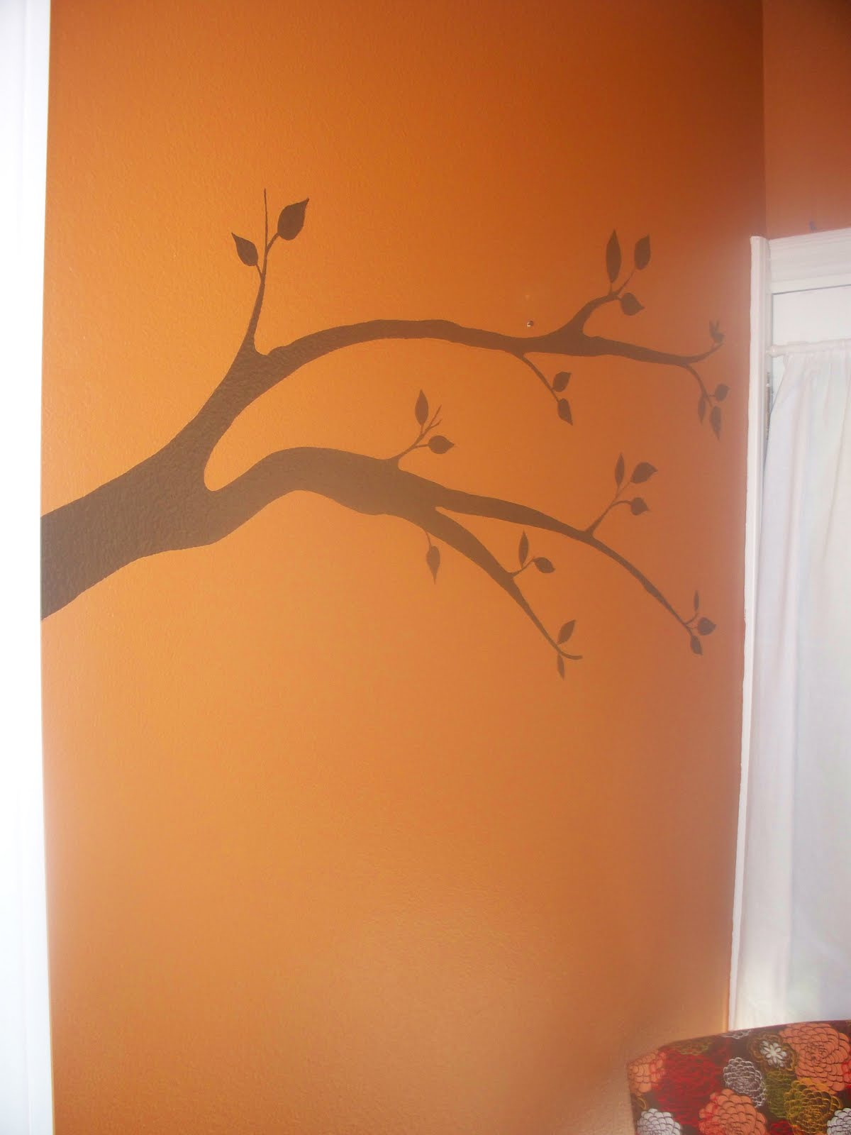 Kreative Knack Hand Painted Wall Art Tree Branch