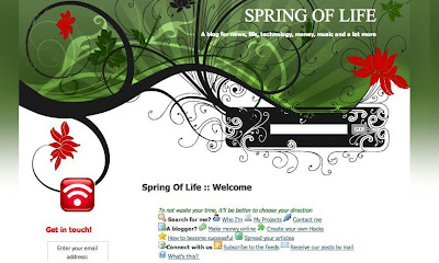 blog review, reviews, spring of life, reviews at webbiestuffs