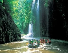 Thi Lo Le Waterfall Rafting in Tak Province of Thailand