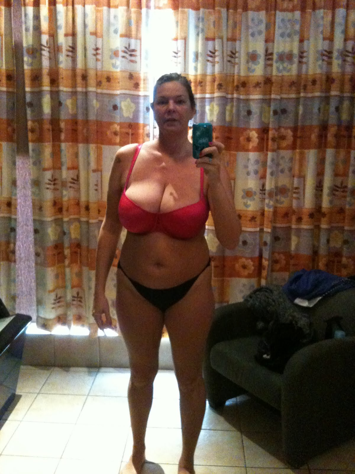 Amateur tall milf with younger boy 2