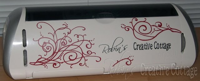 Robin's Creative Cottage: My Newly Decorated Cricut