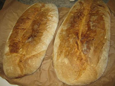 El magnífico pan de Bailo, a 10 kms. de Puente La Reina