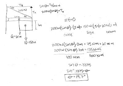 Physics tutorial 9 homework torque solutions antenna