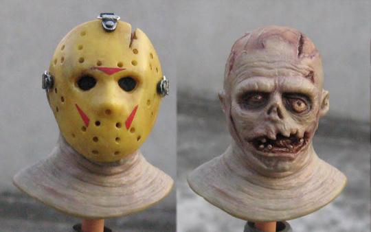 Custom Jason Takes Manhattan Head Sculpt - Friday The 13th ...
