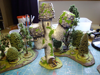 Andy S Wargaming Adventures Fixing Up Old Scenery