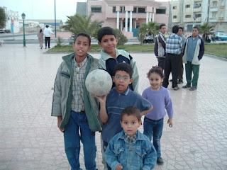 Kids in Dakhla.