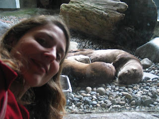 Trina, doing what she otter.