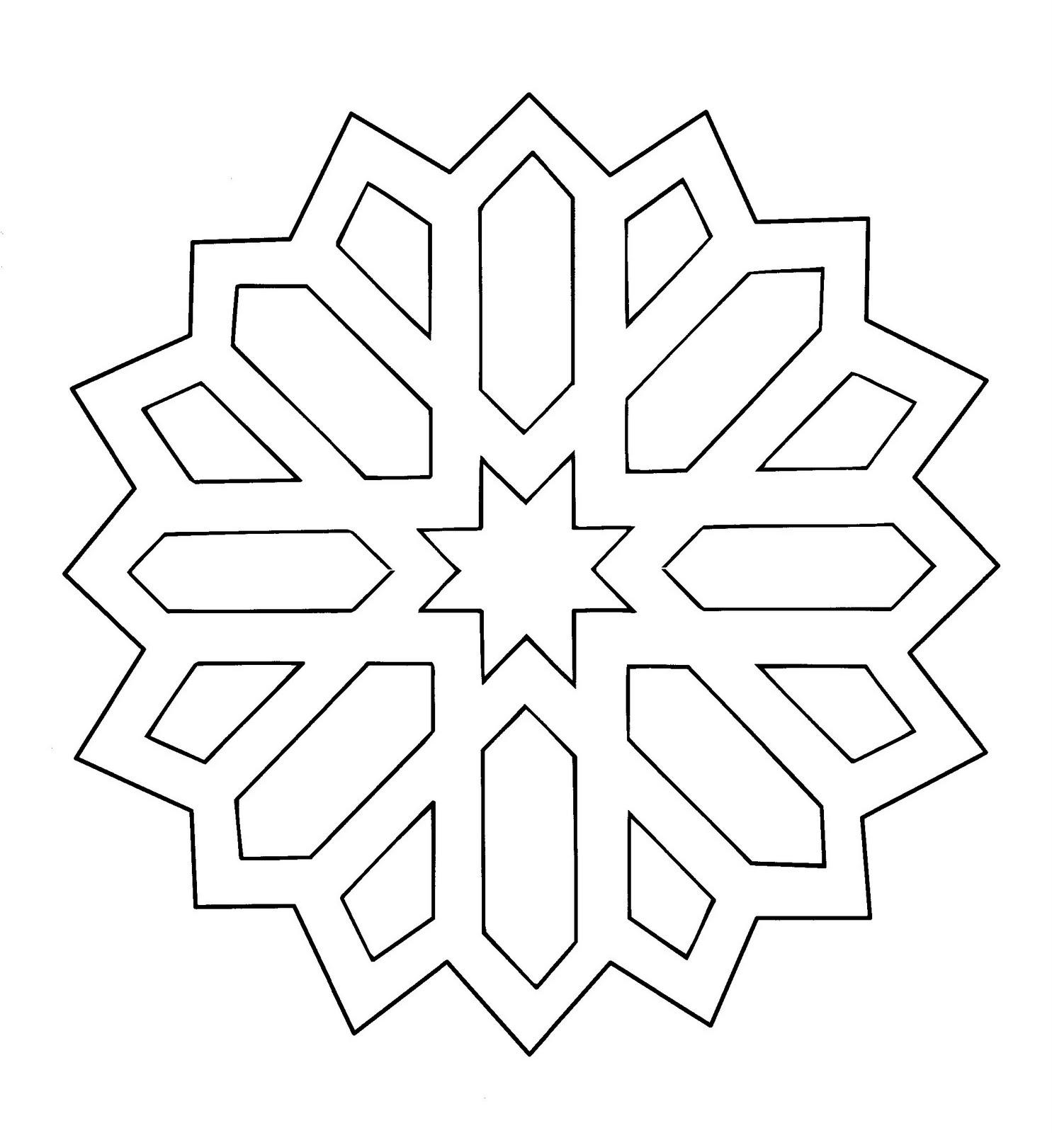 Estrella De Belã©n - Star Christmas Coloring Pages, HD Png ... | 1600x1485