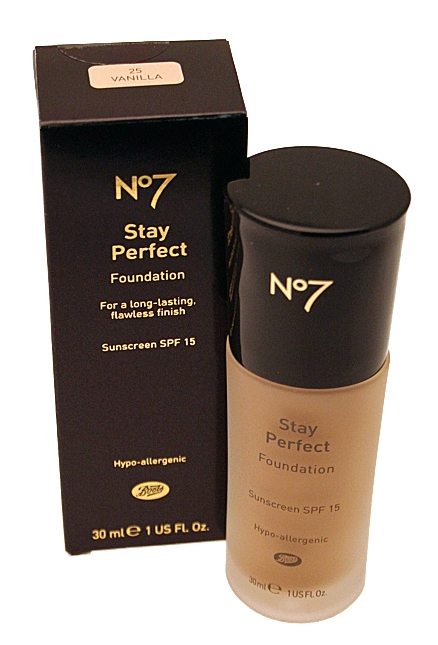 Click And Make Up Beauty Blog No7 Stay Perfect Liquid Foundation