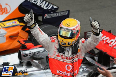 Lewis Hamilton, o Soberbo